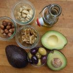 avocado olive nuts